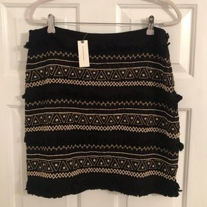 NWT Anthropologie skirt size Large